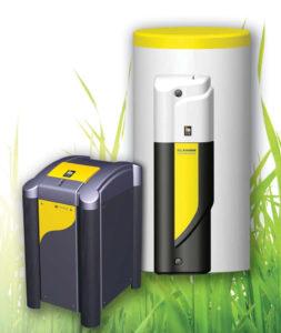 A produção de água quente sanitária mais económica do mercado. A tecnologia HGL permite uma maior poupança e um rendimento calorífico superior a outras bombas de calor geotérmicas, evitando o uso de resistências elétricas no acumulador.